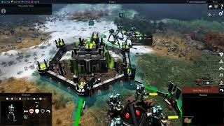 Gladius: Relics of War Necron Gameplay
