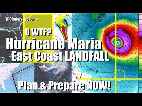 Red Alert! Hurricane Maria - Prepare for Worst Case Scenario NOW!