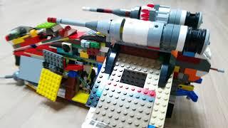 타이판키즈가 만든 레고 스타워즈 7676 리퍼블릭 어택…