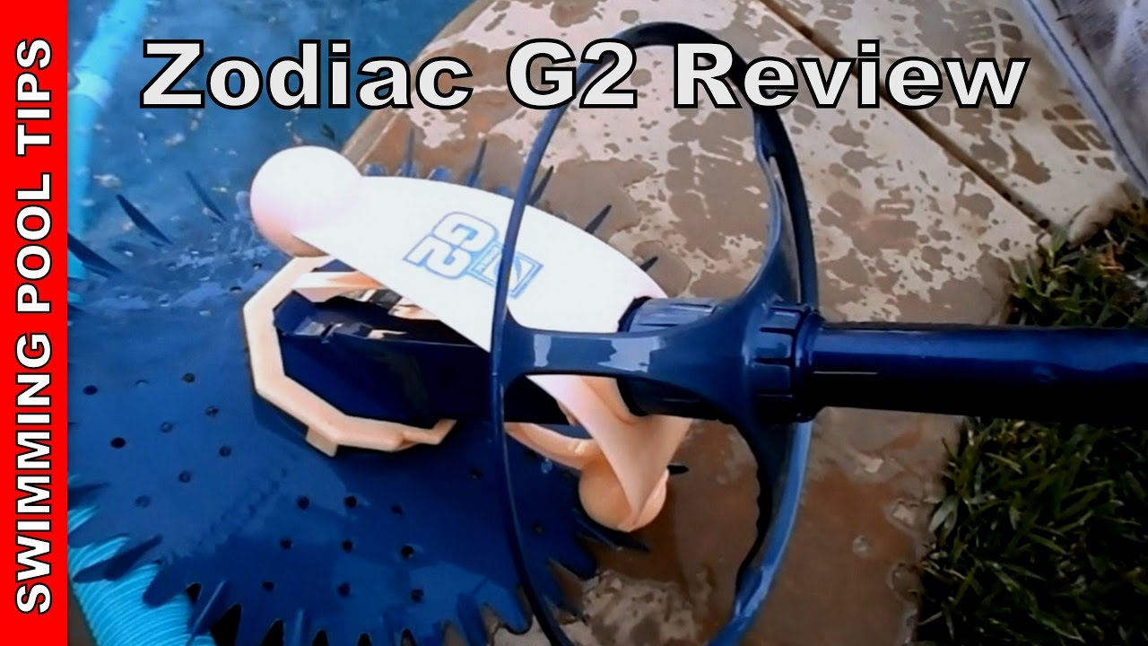 Zodiac g2 pool cleaner review youtube for Pool cleaner reviews 2013