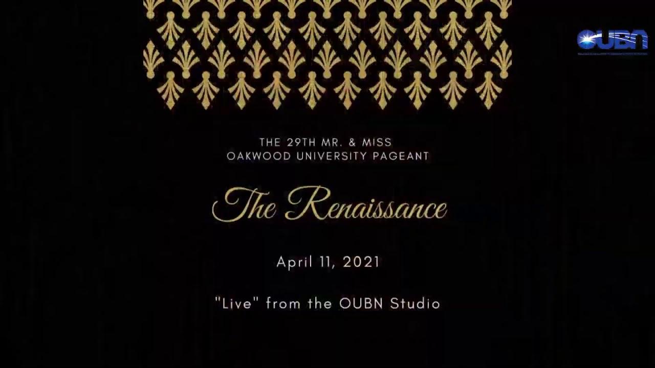 Oakwood Christmas Tour 2021 29th Annual Mr Ms Oakwood Pageant Youtube