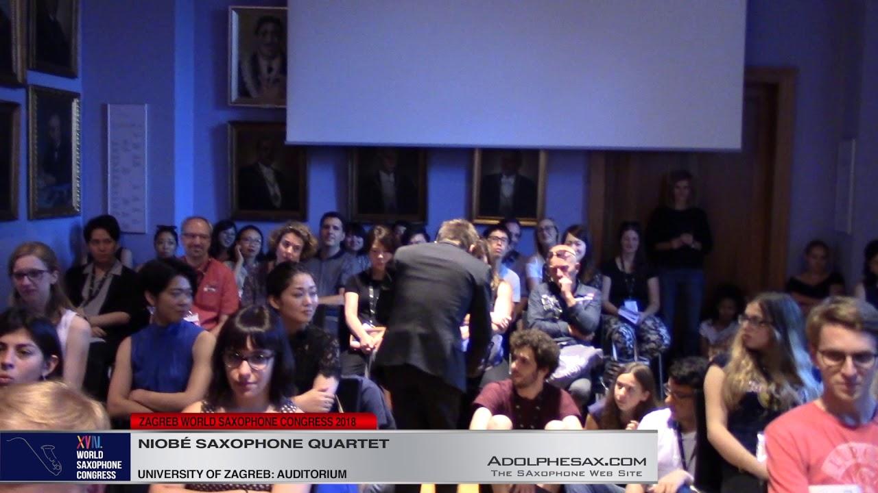 Le Jeu de 7 Musique by Alain Louvier    Niobé Saxophone Quartet   XVIII World Sax Congress 2018 #ad