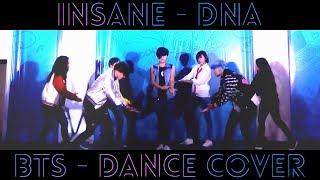 INSANE ft. Deity (From Delirium) - BTS (방탄소년단) 'DNA' - Dance Cover [ECOM 2017] - 171217
