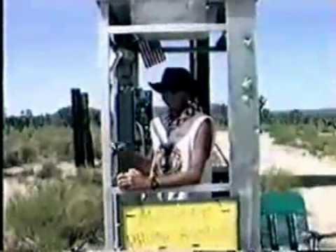 The Mojave Desert Phone Booth