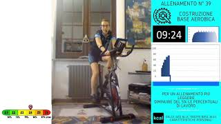 LAVORO IN SOGLIA - 3° mesociclo  - Indoor Cycling  - LIVE - Lezione  Spinning 39
