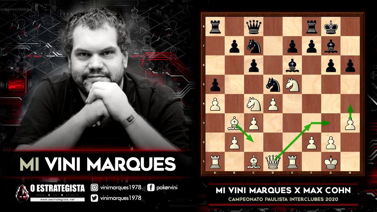 [TREINO] MI Vini Marques demolindo a Defesa Alekhine