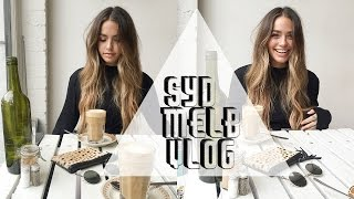 new tattoo dying my hair syd melb vlog