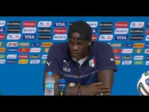 """Mario Balotelli in conferenza:""""Rispettare la Costarica dando il 200%"""""""