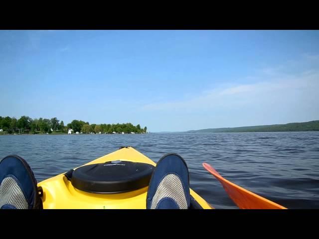 Ocean Kayak Tetra 12 sur la rivière des Outaouais