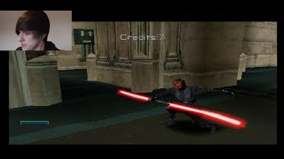 Star Wars Episode I Jedi Power Battles (Jedi Mode) Obi Wan Walkthrough-Final Battle!