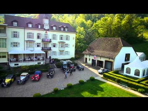 Bugatti Club Suisse zu Gast im Hotel Bad Schauenburg