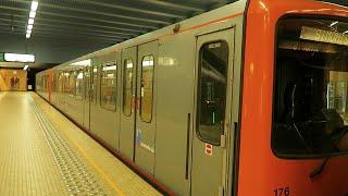【メトロ】ベルギー・ブリュッセル地下鉄 / Metro in Brussels Belgium【世界の鉄道シリーズ】