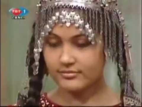 Türkmen Kız Super Ses  Döngel Bir tanem