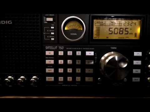 Shortwave broadcast of WTWW from Lebanon, Tennessee, USA @ 5085 kHz