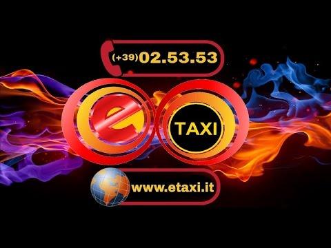 Radio Taxi Milano - ✇ www.etaxi.it - ☎ (0039) 02.5353