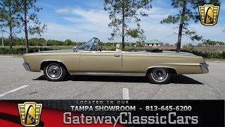 1121 TPA 1965 Chrysler Imperial Crown 413 8 Cyl Torqueflite