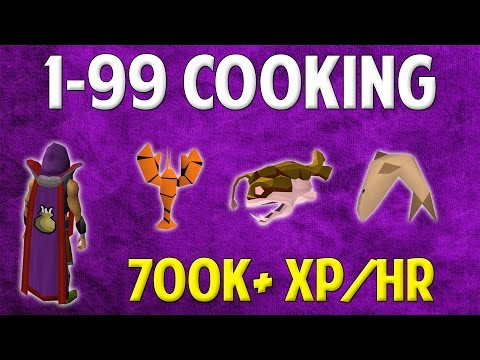 Runescape 2016 | 1-99 Cooking Guide