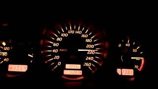 Mercedes SLK 320 0-250 km/h