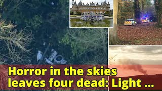 Horror in the skies leaves four dead: Light plane and helicopter take off from flight training schoo