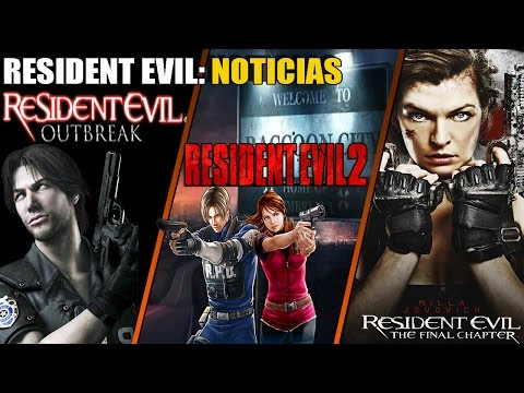 Resident Evil Outbreak Podría Tener Una Nueva Aparición + RE: The Final Chapter - RE2: Remake