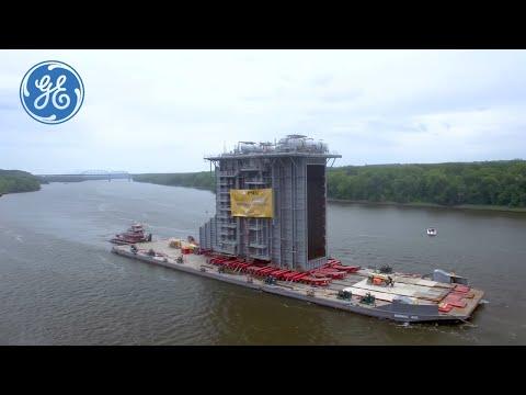 Strange Cargo: Moving An 8 Million-Pound Heat Recovery Steam Generator
