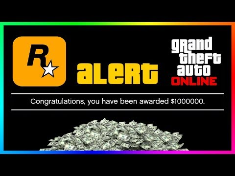 THE BIGGEST GTA 5 ONLINE MONEY GIVEAWAY YET - Get Your FREE $1,000,000 By Logging On Today!