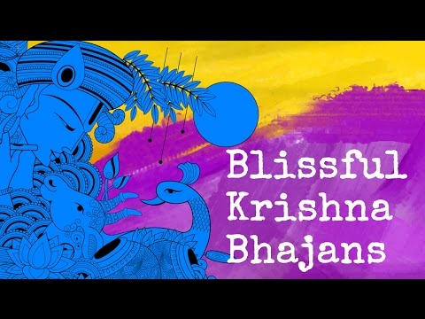 Soul Touching Art of Living Bhajan Songs of Lord Shri Krishna by Vikram Hazra with Lyrics