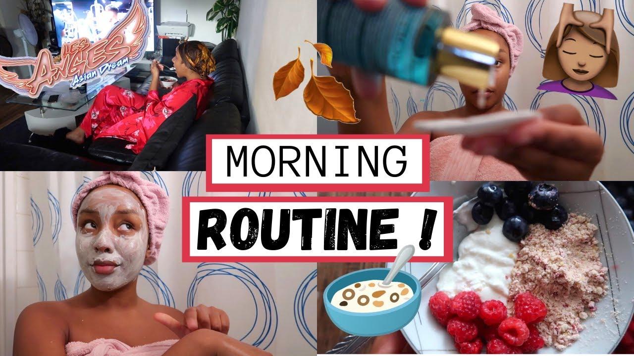 MA MORNING ROUTINE DE CHOMEUSE (oups) 💀 l HONEYSHAY