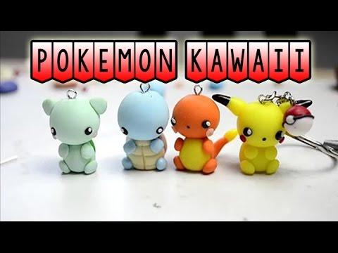 4 tuto en 1 - Pokemon Kawaii Fimo