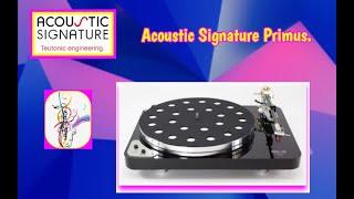 Acoustic Signature Primus con brazo Acoustic Signature TA 700