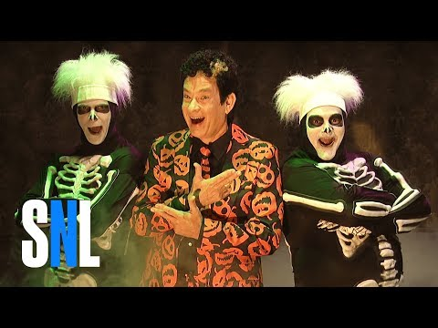 Haunted Elevator ft. David S. Pumpkins  SNL