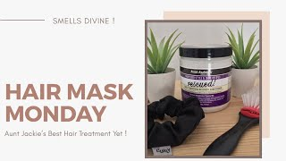 Best Hair Mask Results To Date Aunt Jackie s Grapeseed Hair Treatment Alisa Gomez