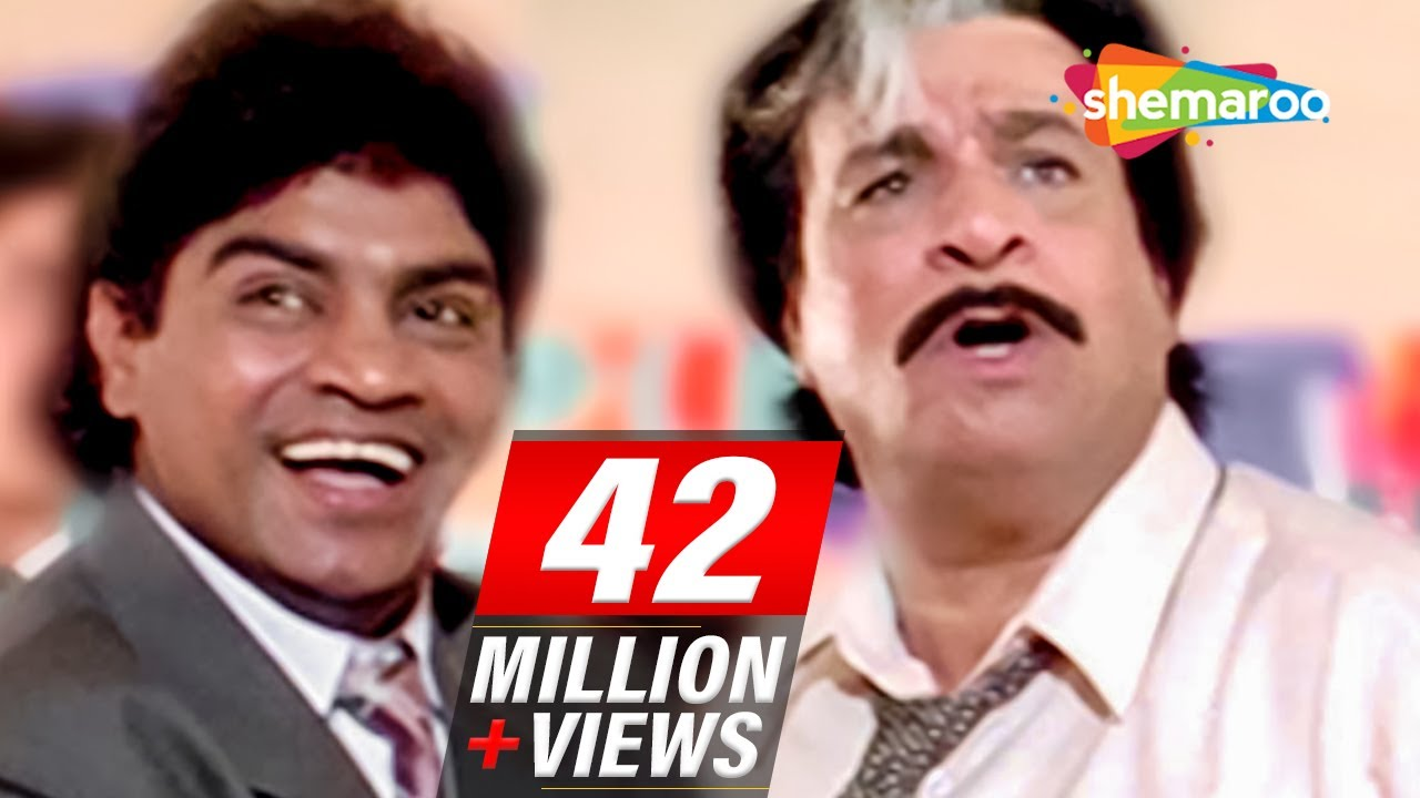 Download Most Entertaining scenes of Johnny Lever & Kader Khan from 90's Hindi comedy Movie - Dulhe Raja