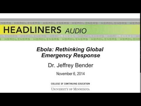 Ebola: Rethinking Global Emergency Response