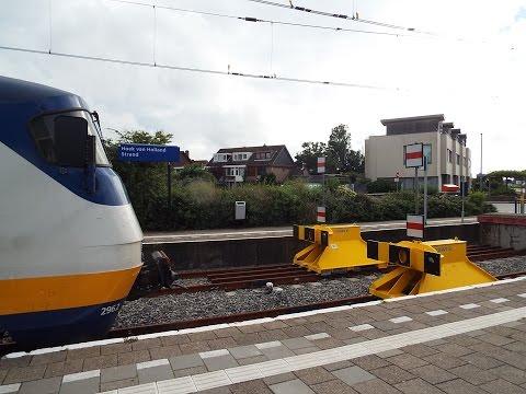 Spoorlijn Hoek van Holland Hook of Holland Railway Rotterdam Centraal ~ Hoek van Holland Strand
