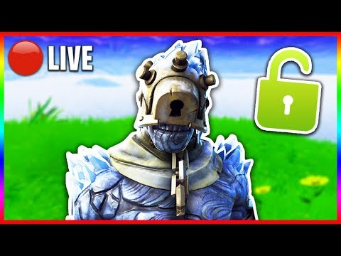 """🔴 Unlocking """"The Prisoner"""" Skin in Fortnite! - NEW *SECRET* Snowfall Skin (Fortnite LIVE Gameplay) thumbnail"""