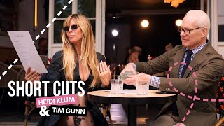 Heidi Klum and Tim Gunn in Making the Cut Paris | Prime Video