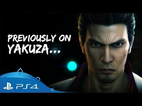 Yakuza 6: The Song of Life | Previously on Yakuza | PS4