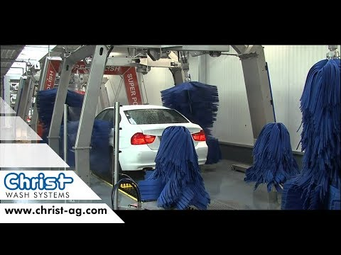 EXPRESS CAR WASH TUNNEL  - english - CHRIST WASH SYSTEMS