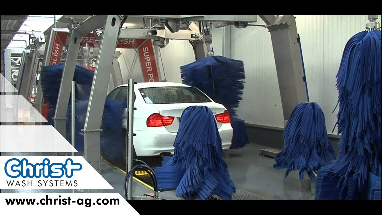 Auto Wash Express Car Wash Tunnel English Christ Wash Systems