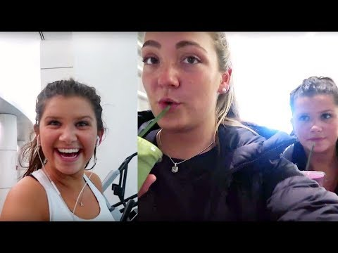 college day with no class   going to the gym with Abbie + smoothies!