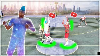 *INTENSE HALF COURT ONLY CHALLENGE w/ GMAN.. #1 playsharps in NBA 2k19 my park get greenlights park