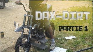 Dax 50cc Transformer en DAX Cross 125cc [Pt1]