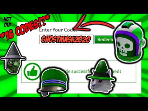 °16 Codes!?° ALL NEW PROMO CODES In ROBLOX! (OCTOBER 2020)