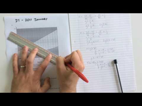 Linear Programming: Edexcel D1 January 2011