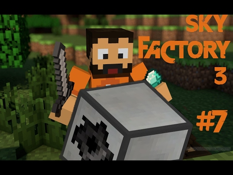 SAG Mill - Minecraft Sky Factory 3 - Bölüm 7