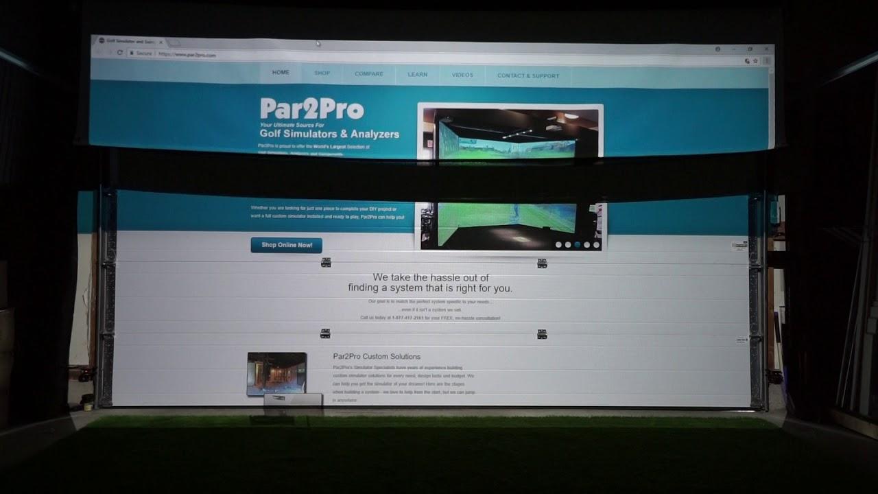 Par2Pro's Online Golf Simulator & Analyzer Superstore NEW! Stealth