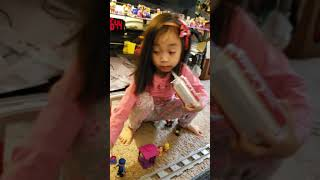 PRINCESS EUNIECE PLAYING WITH A NEW LEGO TOYS JAN.21,2019.