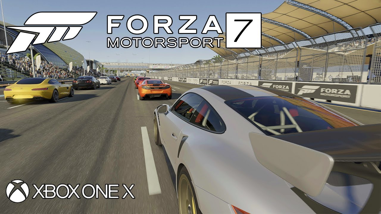 forza motorsport 7 gameplay xbox one x 4k 60fps youtube. Black Bedroom Furniture Sets. Home Design Ideas