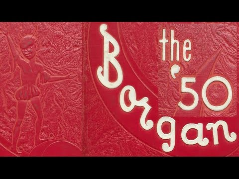 1950 Borger High School yearbook: The Borgan
